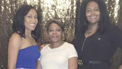 From left: Agnes Moss, founder and president of the National Black Movie Association; Dr. Yolanda Holmes, dermatologist; and Susan Leigh, director of marketing for the National Black Movie Association (Courtesy of NBMA)