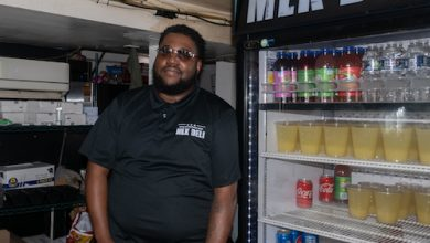 Tyrone White, owner of MLK Deli, is receiving help from Chase business consultants to help expand his business. (Shevry Lassiter/The Washington Informer)