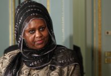 **FILE** Somali Foreign Minister Fawzia Yusuf H. Adam (Foreign and Commonwealth Office via Wikimedia Commons)