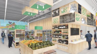 An artist's rendering of the interior of Good Food Markets' new Seat Pleasant, Maryland, location on Central Avenue (Courtesy of Good Food Markets)