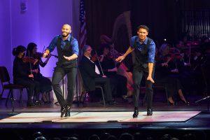 John Manzari and Leo Manzari (Scott Suchman via The John F. Kennedy Center for the Performing Arts)