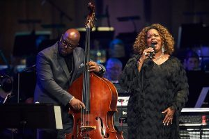 Christian McBride and Dianne Reeves (Scott Suchman via The John F. Kennedy Center for the Performing Arts)