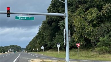 A portion of land owned by Six Flags America at Central Avenue and Church Road in Bowie, Maryland has been proposed to be rezoned for commercial use as part of a project to boost the Bowie-Mitchellville area. (William J. Ford/The Washington Informer)
