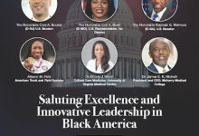 The NNPA honored six individuals for excellence and leadership in the Black community during the NNPA's recent Leadership Awards. (Courtesy of NNPA Newswire)