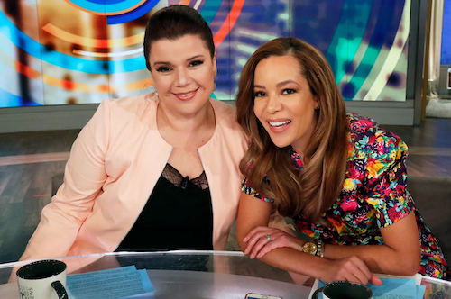 """**FILE** """"The View"""" co-hosts Ana Navarro (left) and Sunny Hostin (Courtesy of Disney General Entertainment)"""