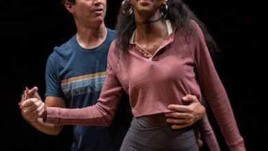 """Woolly Mammoth's opening season play is """"Teenage Dick"""" running until Oct. 17. The high school-themed play features (from left) Gregg Mozgala as Richard Gloucester, born with cerebral palsy. Zurin Villanueva portrays Anne Margaret, the girl all the guys want. (Courtesy photo)"""