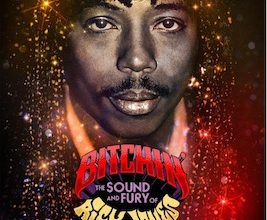 """Poster for """"Bitchin': The Sound and Fury of Rick James' ' which premieres on Showtime Sept. 3. (Photo courtesy Kory Mello for Obscured Pictures)"""