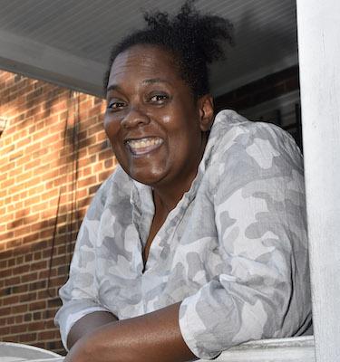 Sharisse Baltimore, the Parent Advisory Council president at Friendship Public Charter School Blow Pierce Campus (Robert R. Roberts/The Washington Informer)
