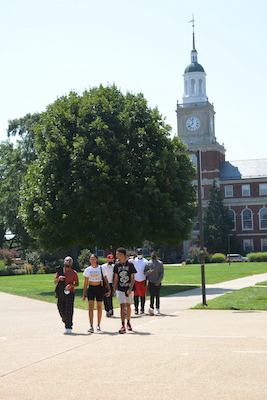 Howard University students faced a housing shortage due to an increase in enrollment.