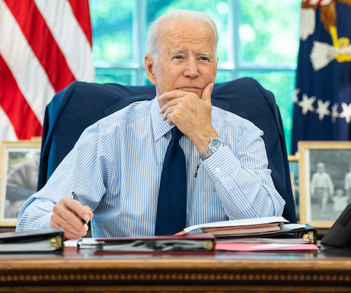 **FILE** President Joe Biden (Official White House Photo by Adam Schultz)