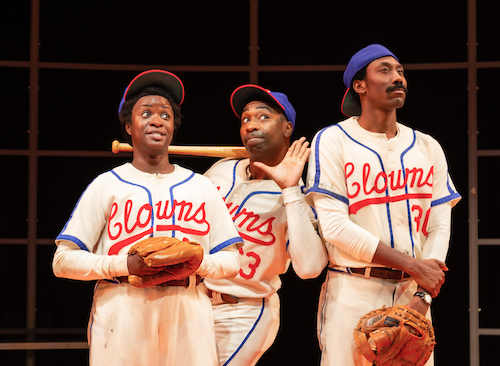 From left: Santoya Fields, JaBen Early and Sean-Maurice Lynch (Ryan Maxwell/Arena Stage)