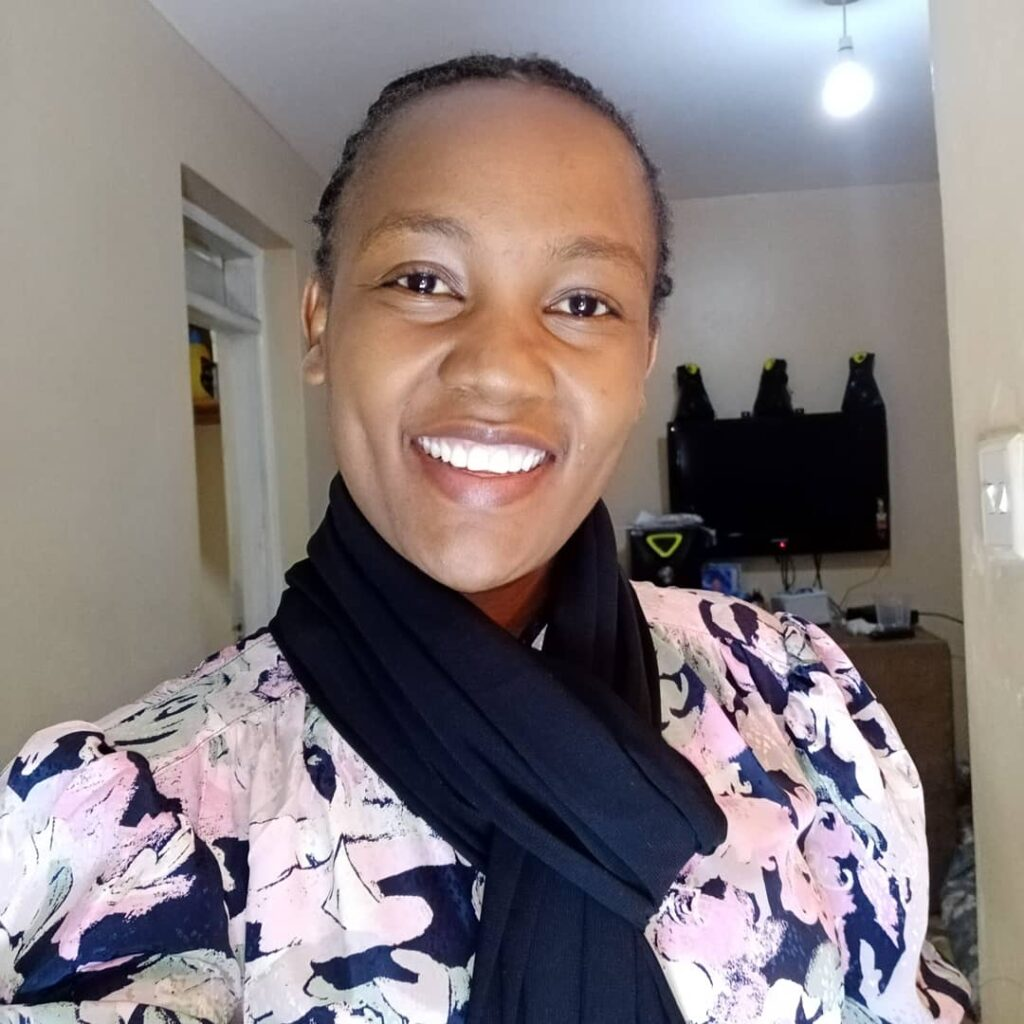 After more than a year of abuse, Faith Murunga was able to raise money for a return trip to Kenya.(Courtesy of Faith Murunga)