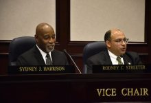 **FILE** Prince George's County Council members Todd Turner (right) and Rodney Streeter (Robert Roberts/The Washington Informer)