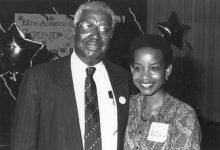 Dr. Calvin W. Rolark Sr. and Denise Rolark Barnes (Roy Lewis/ The Washington Informer)