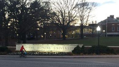 **FILE** Johns Hopkins University's Homewood campus in Baltimore (Tingtingou via Wikimedia Commons)