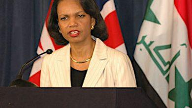 **FILE** Condoleezza Rice (Department of Defense via Wikimedia Commons)