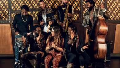 """Mwenso and the Shakes perform for """"Harlem 100"""" at The Barns at Wolf Trap on Thursday, Nov. 4. (Courtesy photo)"""