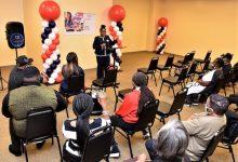 LaTasha Ward speaks to supporters at a campaign kickoff Oct. 25 in Glenarden. (Robert R. Roberts/The Washington Informer)