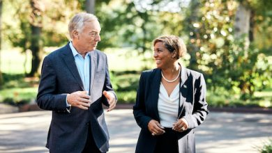 Maryland Comptroller Peter Franchot (left) and Prince George's County Council member Monique Anderson-Walker, whom Franchot has chosen as his running mate in his gubernatorial bid (Courtesy of Franchot for Governor)
