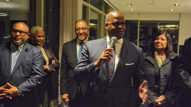 Kasim Reed, former mayor of Atlanta, was in D.C. for a major fundraising event in his efforts for reelection. Atlanta Mayor Bottoms has chosen not to seek reelection. (Roy Lewis/The Washington Informer)