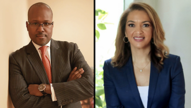 Shawn Rochester and Robin Watkins are poised to break through more barriers in the financial world. (Courtesy photo)