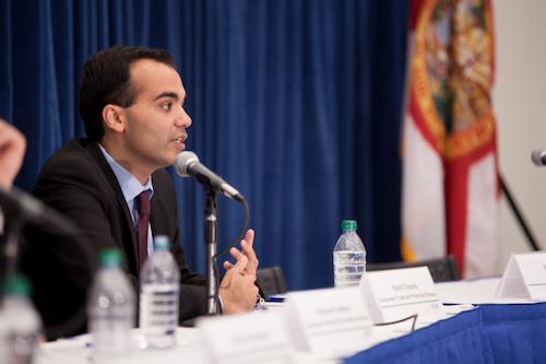 **Rohit Chopra (Consumer Financial Protection Bureau via Wikimedia Commons)