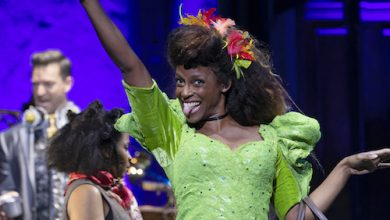 """Kimberly Marable shines in """"Hadestown."""" (Courtesy of the Kennedy Center)"""
