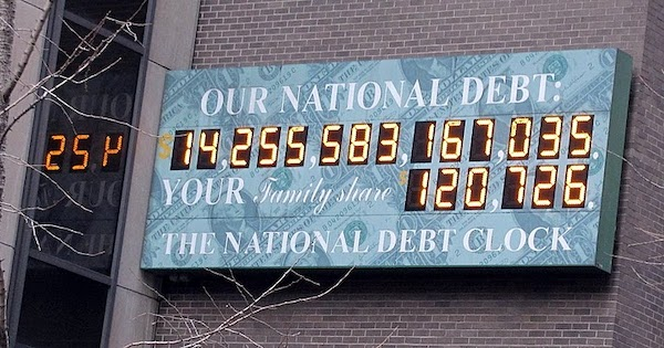 The threat of not extending America's debt ceiling could have monumental effects on African Americans. (Courtesy of Benoit Prieur via Wikimedia Commons)