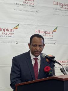 Ethiopian Ambassador Fitsum Arega