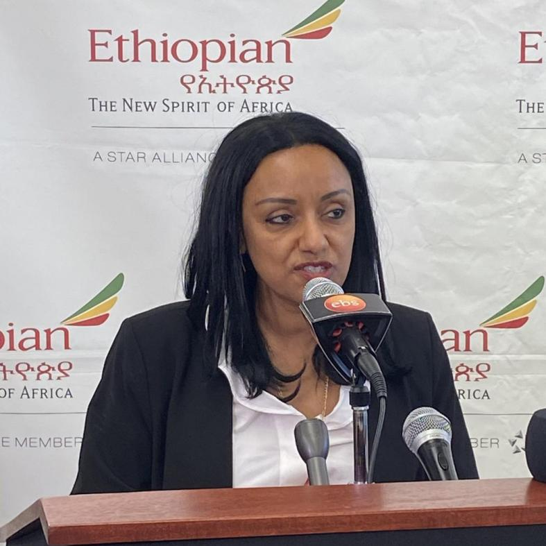 Rahel Assefa, Ethiopian Airlines Vice President of Marketing