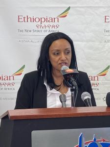 Rahel Assefa, Ethiopian Airlines Vice President of Marketing