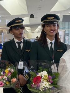 Ethiopian Airlines Flight ET500 crew included two female flight pilots.